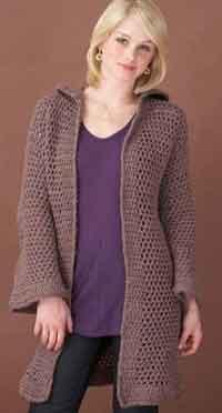 crochet sweater patterns beach cover-up cardigan ONVGWLX