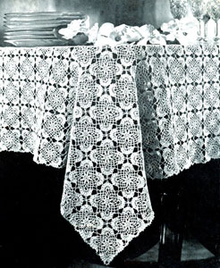 crochet tablecloth pattern jonquil tablecloth pattern TFMUNLE