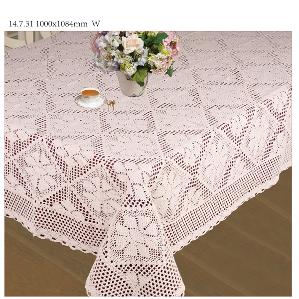 crochet tablecloth stars  MLZFLHH