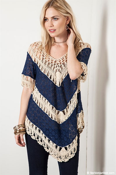 crochet tunic follow us on: DEZHMLT