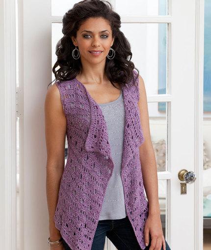 The history of crochet vest