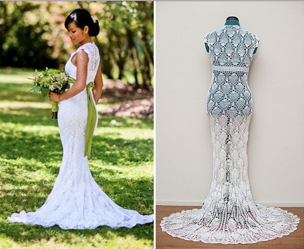 crochet wedding dress ... crochet-wedding-dress CZQKTDF
