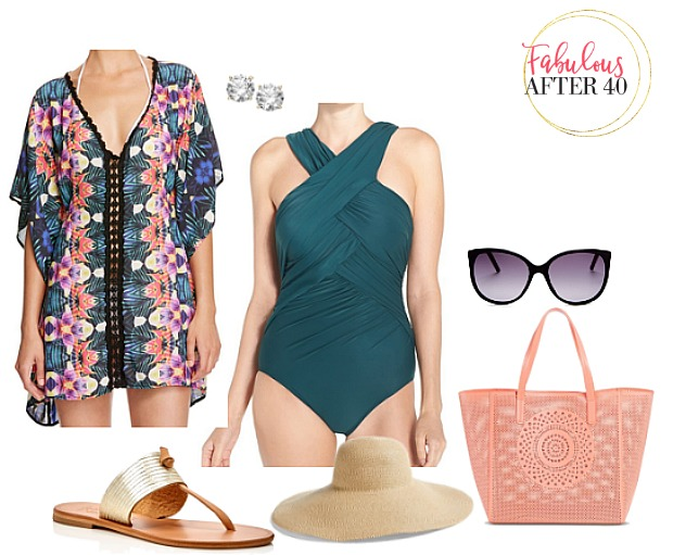 Sporting cruise wear to look trendy