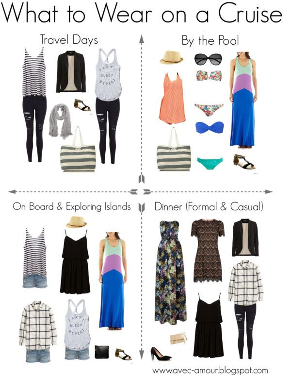cruise wear what to wear on a cruise! CLLLOGK