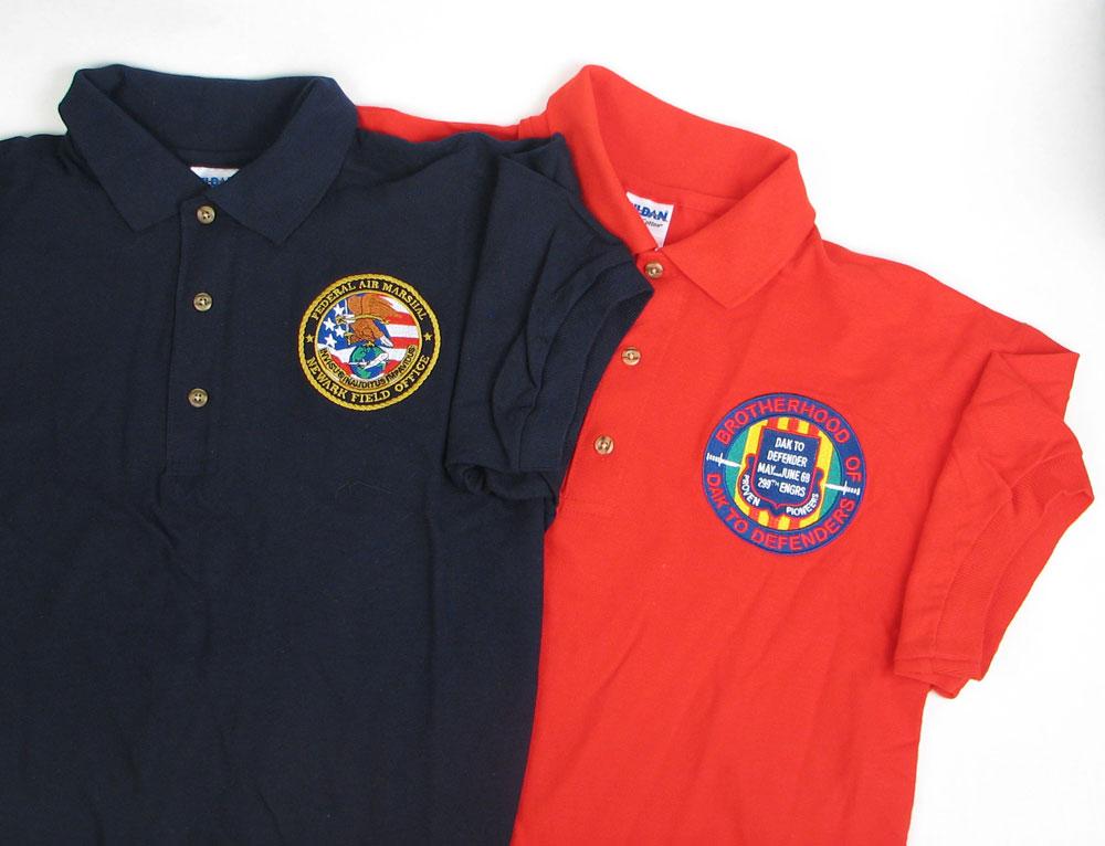 custom embroidered polo shirts SZMOZPF