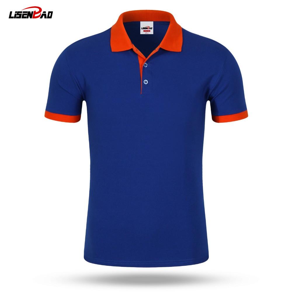 custom polo shirts lisenbao new 2017 polo shirt for men designer polos accept custom diy logo  men ZTSJGNB