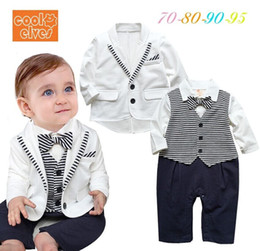 designer baby clothes 16 baby clothing wholesale set baby boy gentlemen style suits baby boy  formal clothes ZBLBXYB