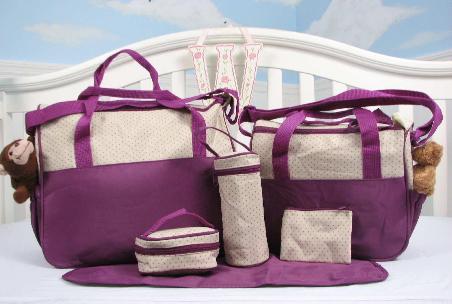 diaper bags for girls soho lavender diaper bag SICWVUD