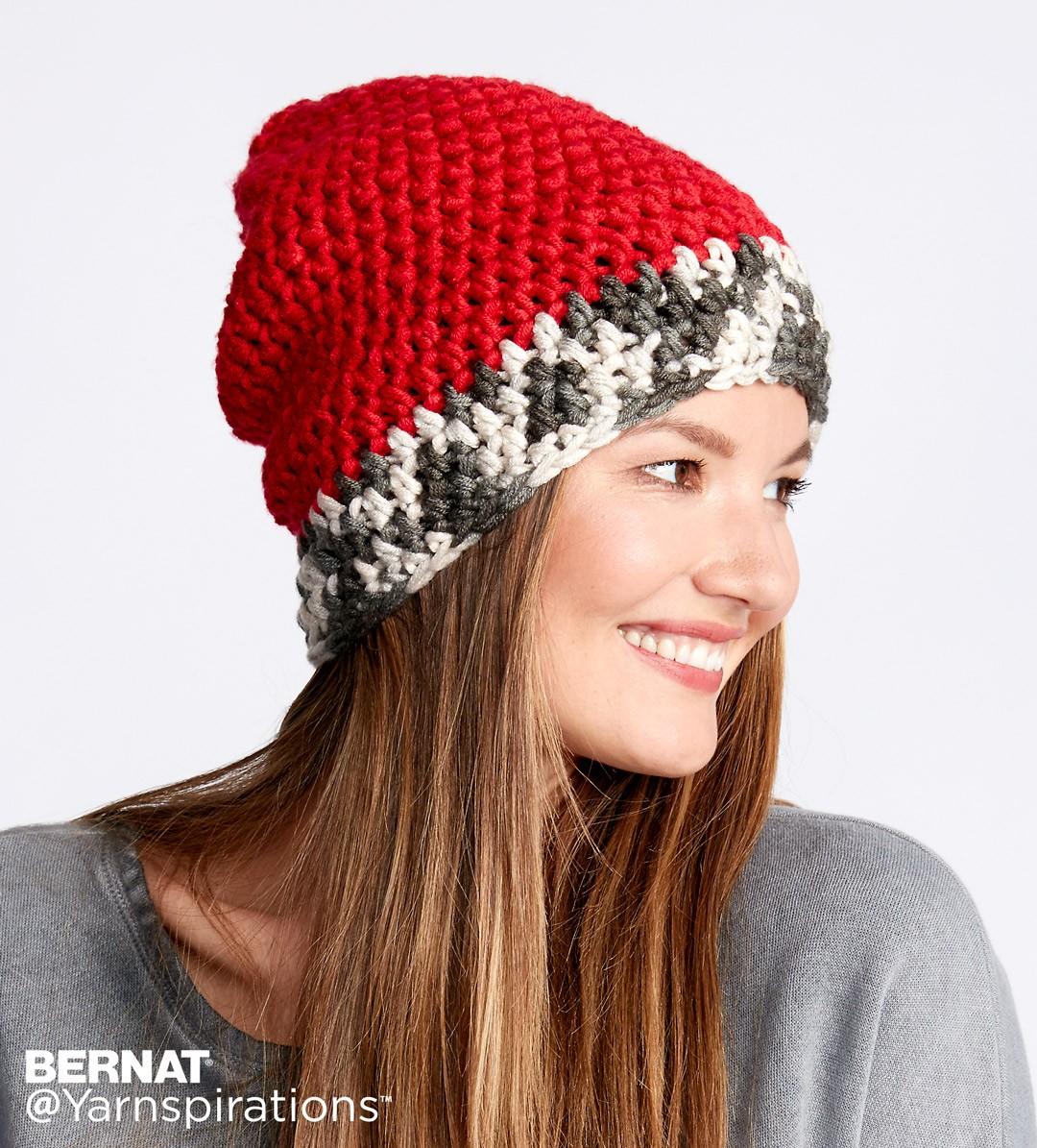 dipped tip crochet hat YQDDZIL