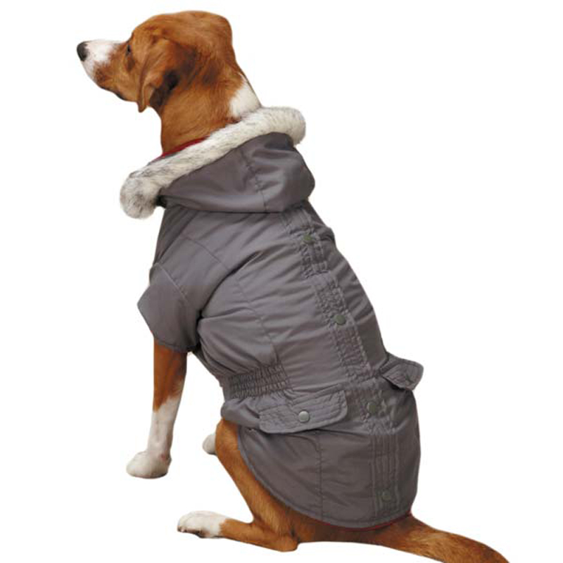 dog jackets 3-in-1 eskimo dog jacket - gray ... TYYKQNZ