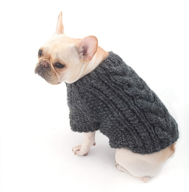 Three great dog sweater knitting pattern to keep your dog warm.