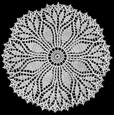 doily patterns fern leaf doily pattern RKRFSIK