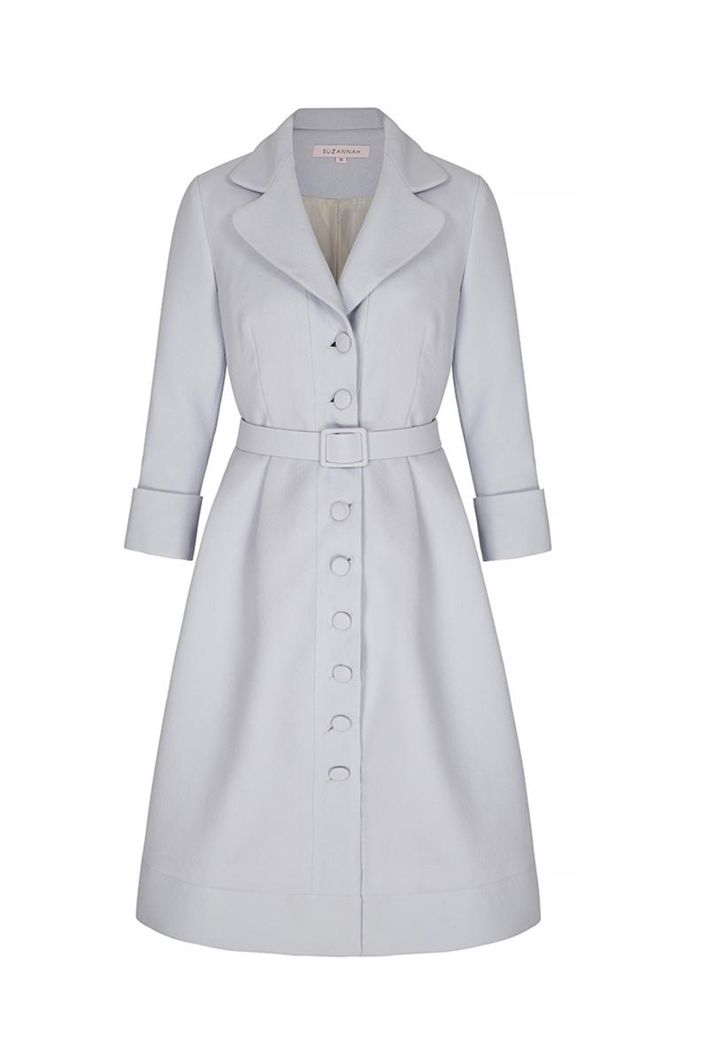 dress coat princess dress-coat powder blue crepe DPKGLHM