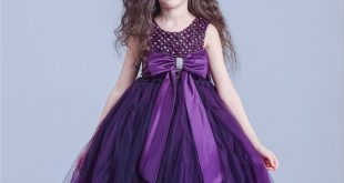 dresses for kids s1633 free shipping 2016 new purple flower girls dresses kids prom dresses  kids graduation HZXETDO
