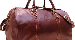 duffle bags cenzo leather duffle bag in vecchio brown EFEDILU