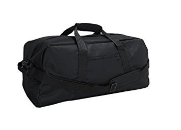 duffle bags dalix 21 large duffle bag with adjustable strap ... BASCNDF