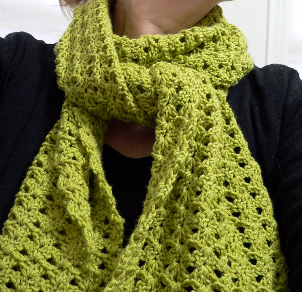 easy crochet scarf patterns a little crochet moment VGZMSFR