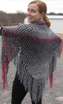 easy knitted shawl patterns GJSBYFY