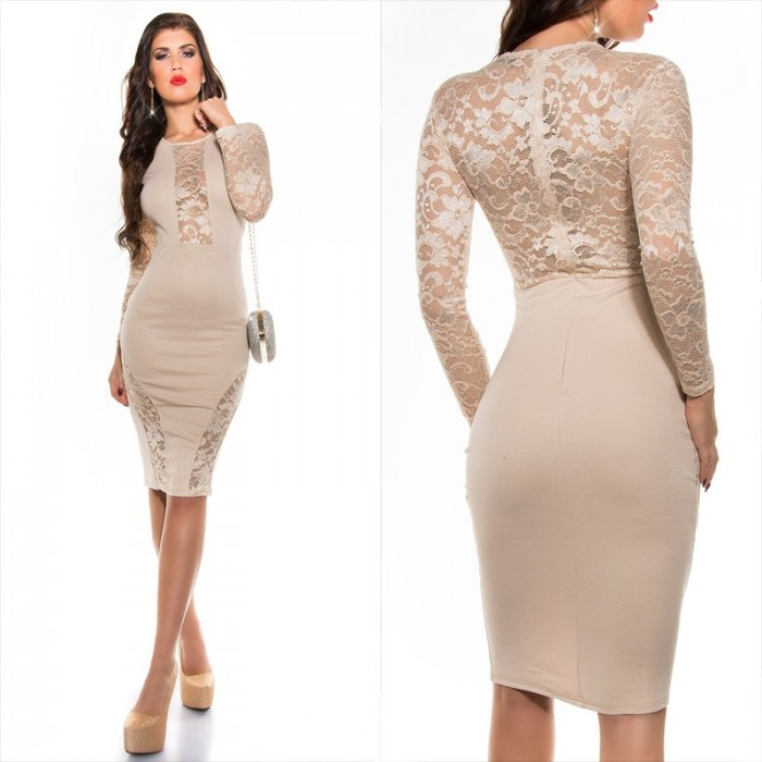 elegant pencil dress-koucla fashion QBDGPPA