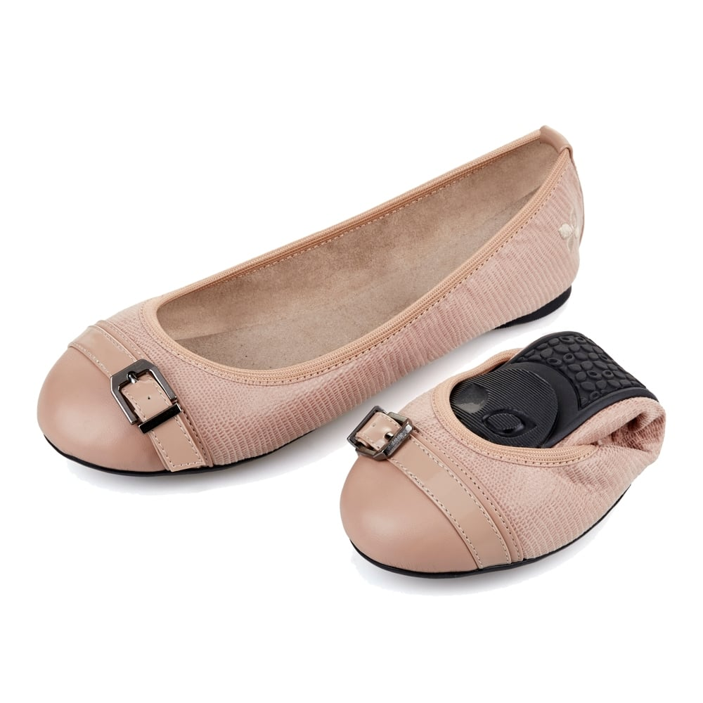 ella - folding ballerina pumps JGMLSBU