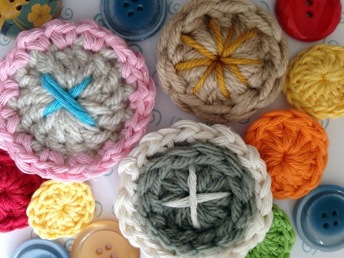 embellished crochet buttons WVYIKUV