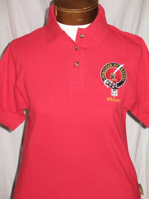 embroidered polo shirts embroidered clan badge womens polo shirt GVHFOXQ
