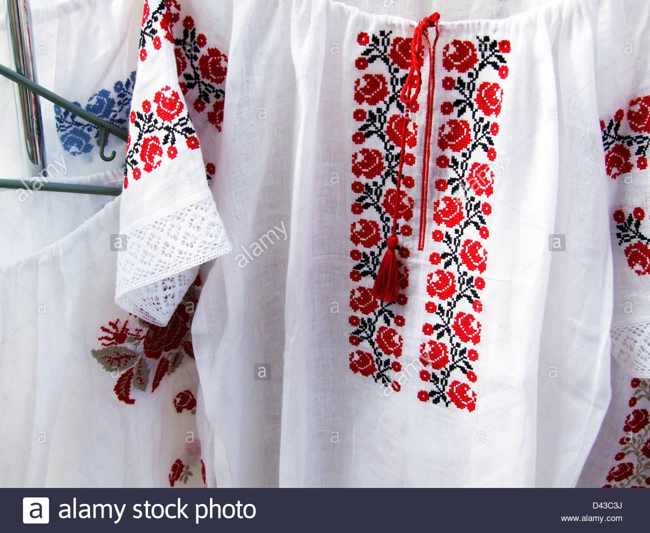 embroidered shirts national ukrainian embroidered handmade women shirts YBJBBOL