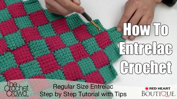 entrelac crochet entrelac afghan pattern + tutorial VGJBOQK