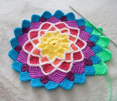 entrelac crochet for ... XHNLXBL