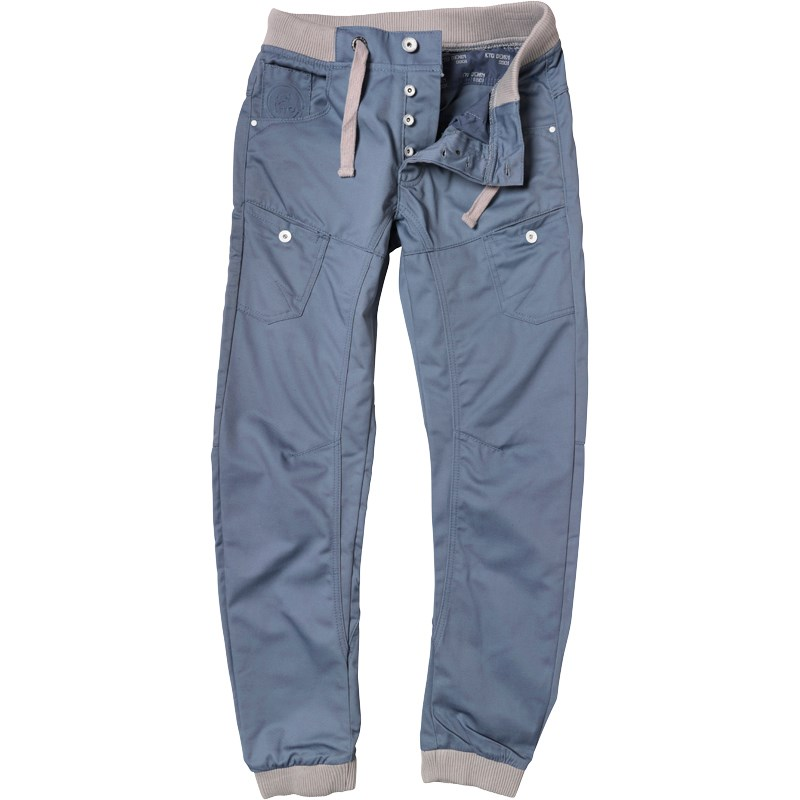 eto jeans mens cuffed leg em490 jeans light blue YBWJMYY