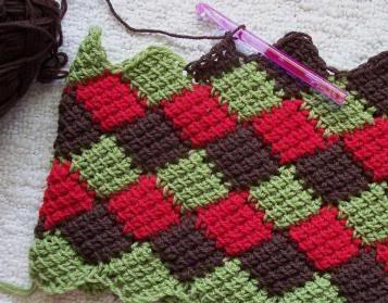 everything you need to know about entrelac crochet ADTBBCJ