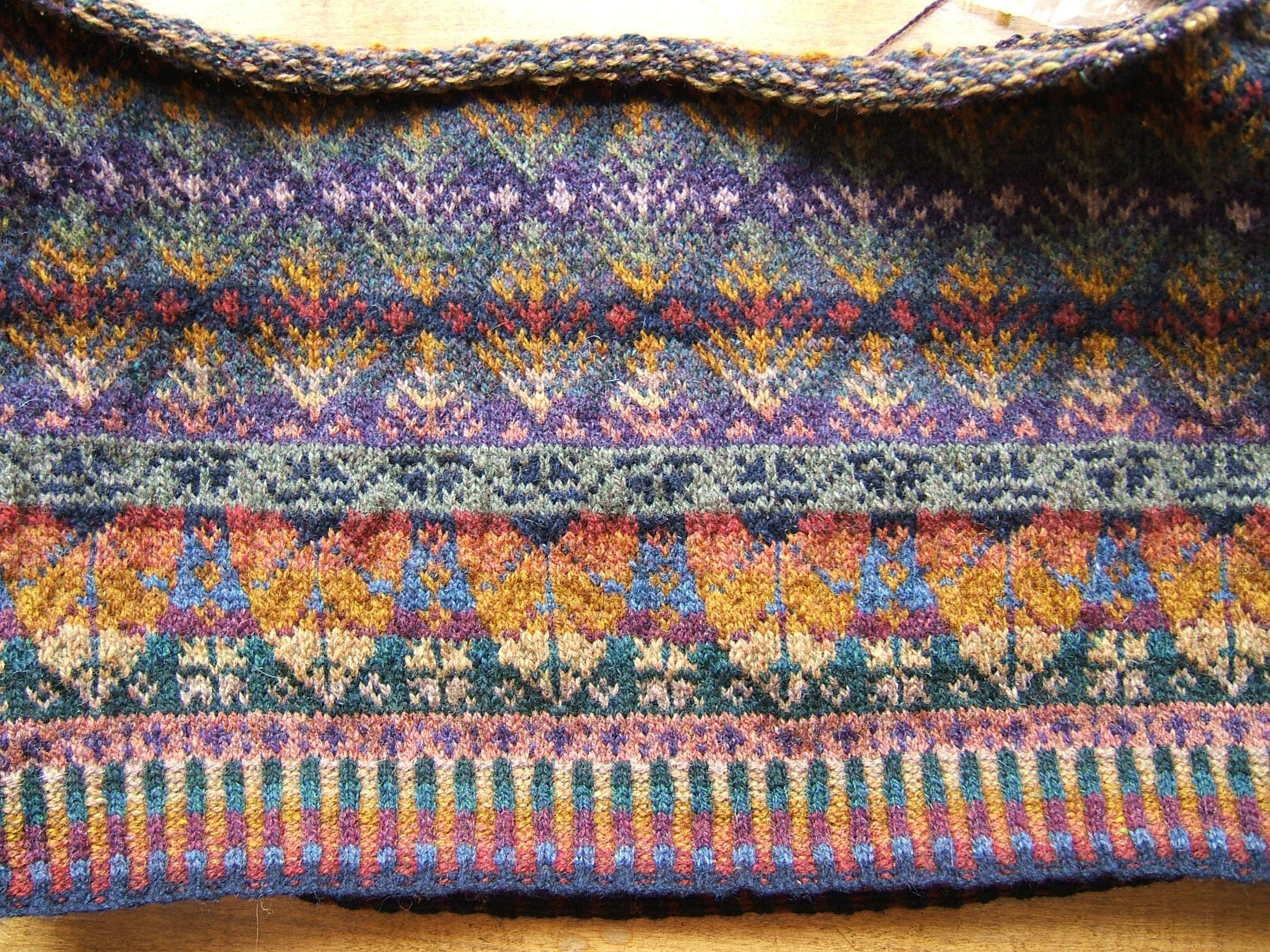 fair isle knitting FIBXYSY