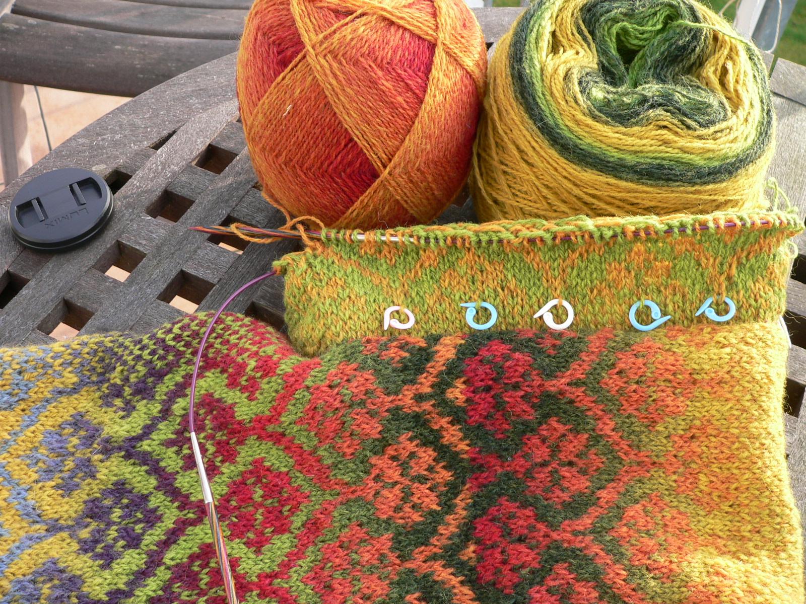 fair isle knitting IEGKQJM