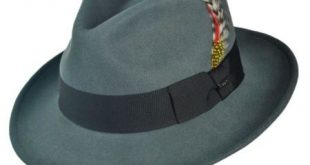 fedora hats jaxon hats c-crown crushable wool felt fedora hat CTXCHRK