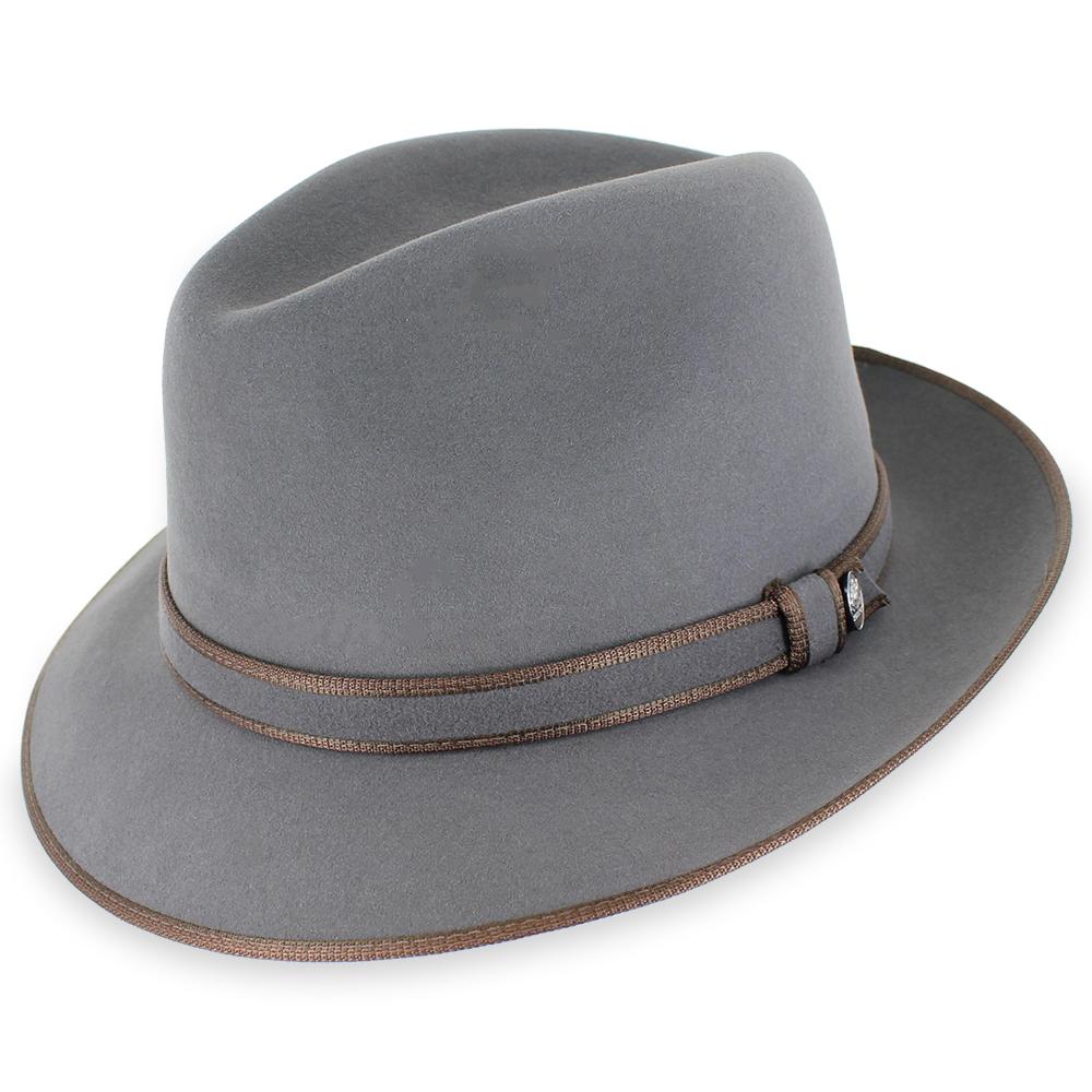 fedora hats stetson handmade edsel - fur felt fedora hat CZYLODD