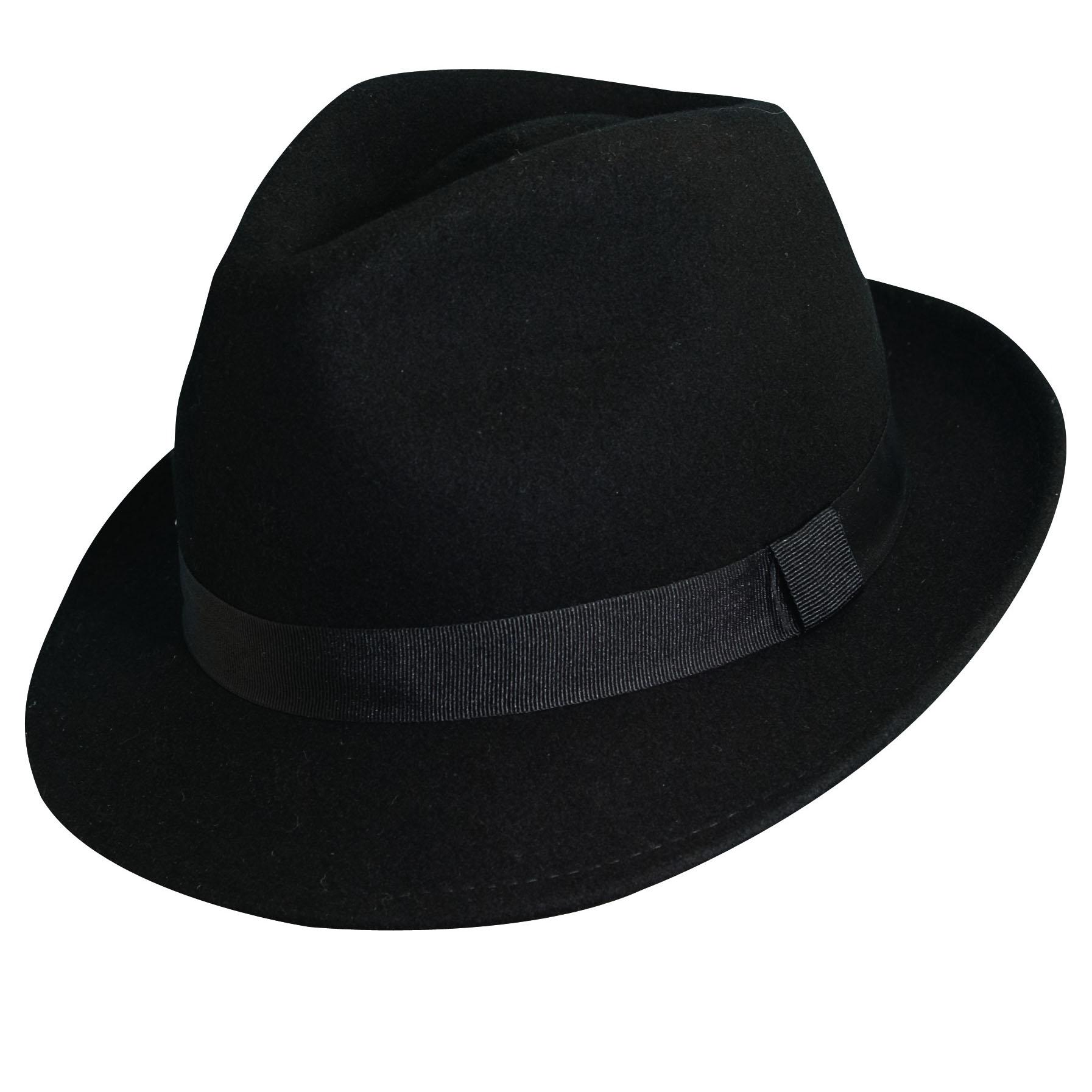 fedora hats wool felt fedora hat black DBDTCVI