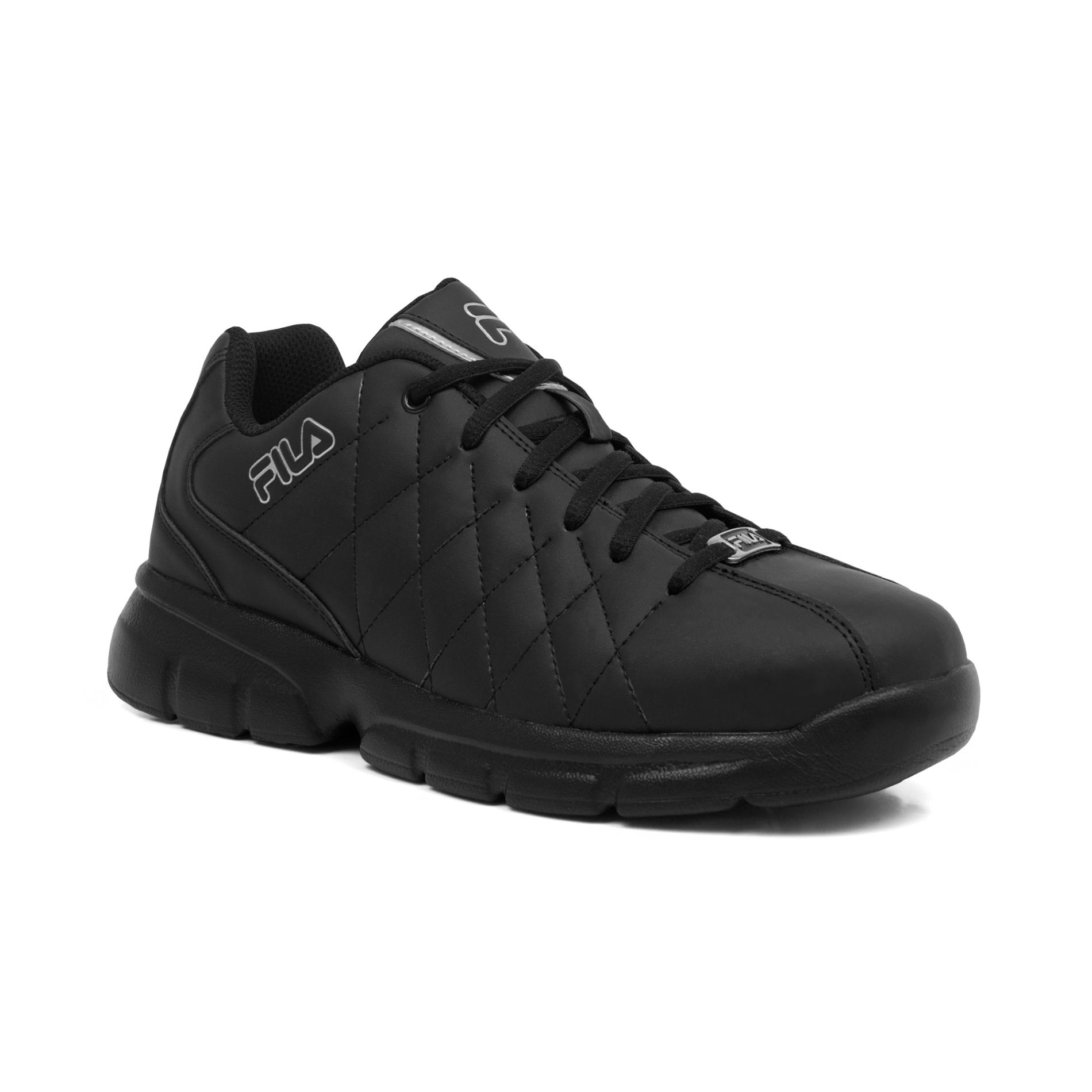 fila shoes fila menu0027s fulcrum 3 athletic shoe - black JJYCXDK