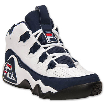 fila shoes menu0027s fila 95 retro basketball shoes XZKEKAP