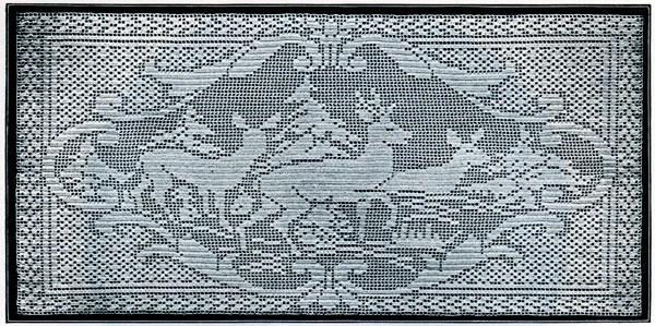 filet crochet deer pattern FLIFDWD