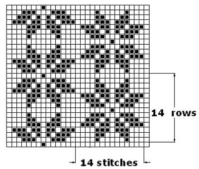 filet crochet patterns pattern 2.to make swatch: multiple of 14 stitches ... NXFZFTW