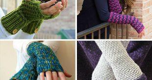 fingerless gloves crochet pattern 47 incredible crochet fingerless gloves | allfreecrochet.com RAMJUEU