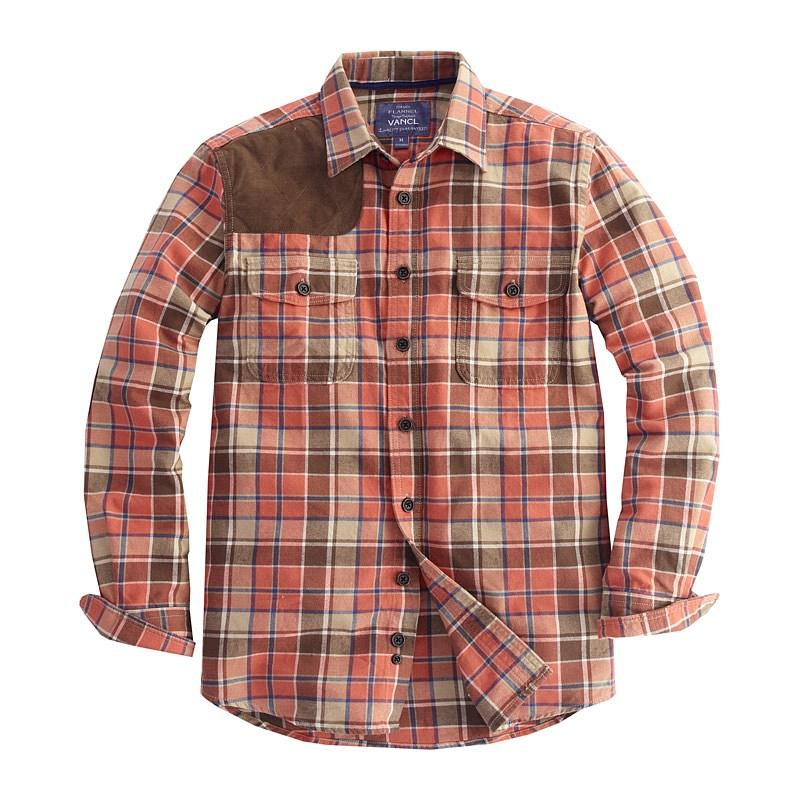 flannel shirts for men HVIVALC