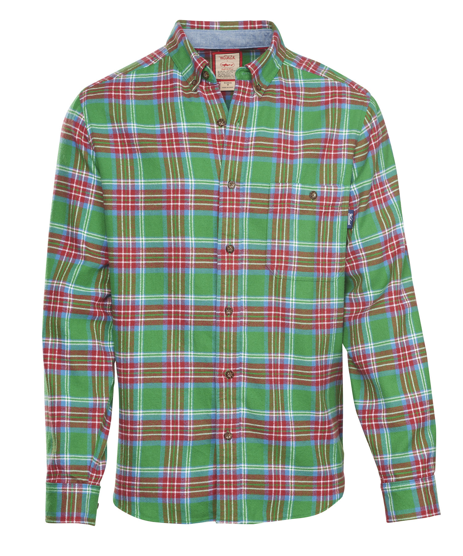 flannel shirts for men menu0027s trout run flannel shirt in dogfish plaid OVMSDDE