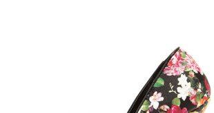 floral pumps pretty floral print pumps - floral heels - pointed pumps - $34.00 MWZIALP