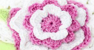 flower crochet pattern 21. DRWZVSH