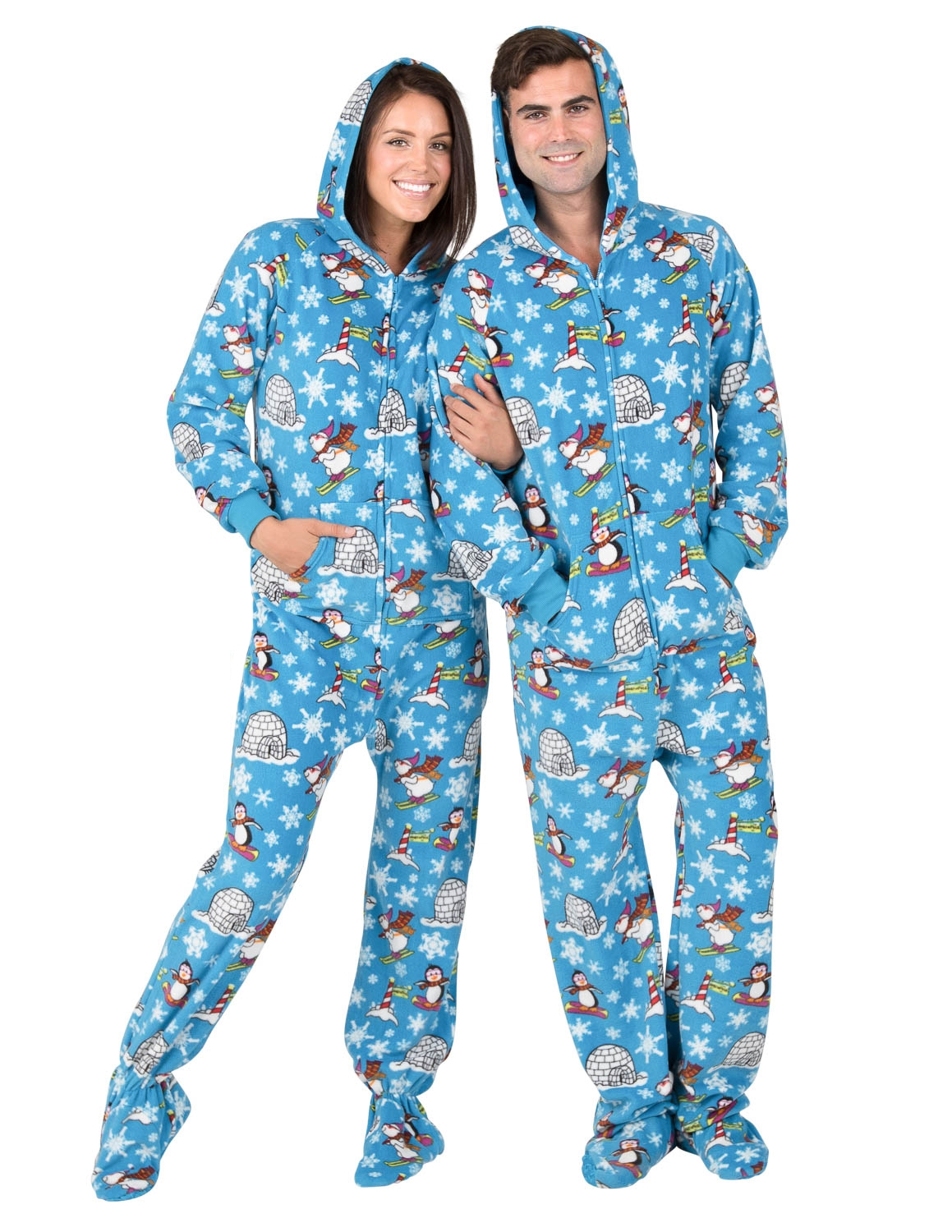 Footie pajamas: when comfy gets cozily  lazy