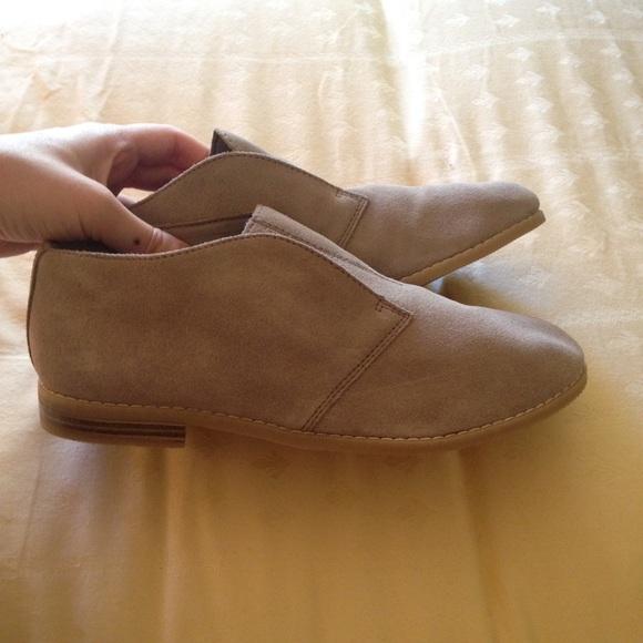 franco sarto shoes - slip on suede franco sarto loafers VMFJGVN