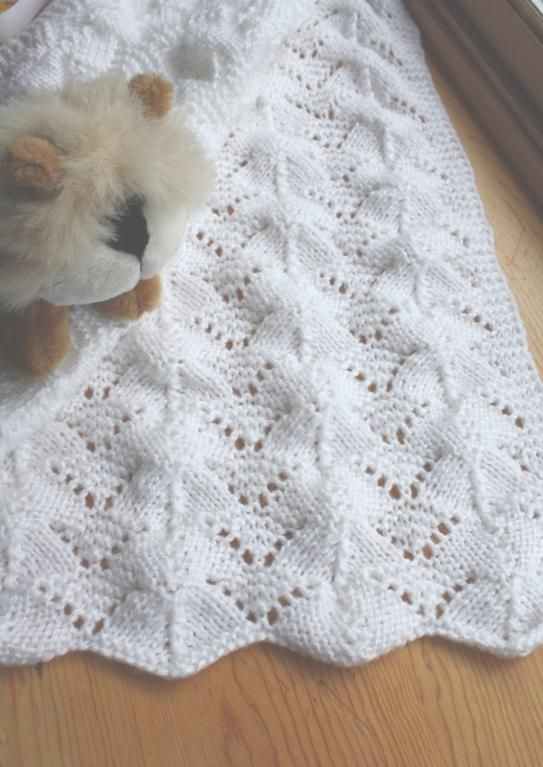 free baby blanket knitting patterns free knitting baby blanket patterns | reversible lace ... by rukodelnitsa | knitting  pattern UMPIPMT