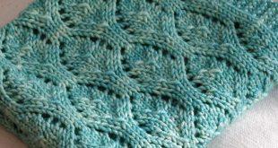 free baby blanket knitting patterns free knitting pattern for chalice baby blanket. baby chalice blanket BDKUXEB