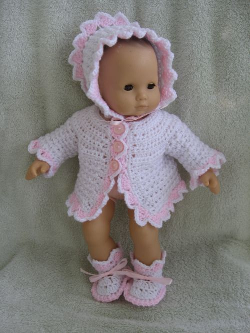 free crochet baby doll pants patterns | how to crochet doll clothes for any WNNZCKE
